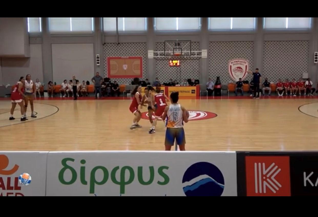 Η Δίρφυς χορηγός της Γυναικείας ομάδας μπάσκετ του Ολυμπιακού για δεύτερη χρονιά dirfys osfp2