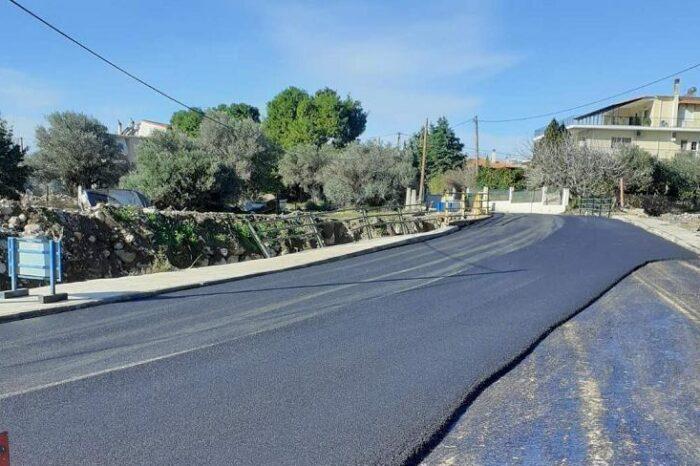 Ξεκίνησε η αποκατάσταση του οδικού δικτύου Ψαχνών-Πολιτικών-Νεροτριβιάς (φωτό)