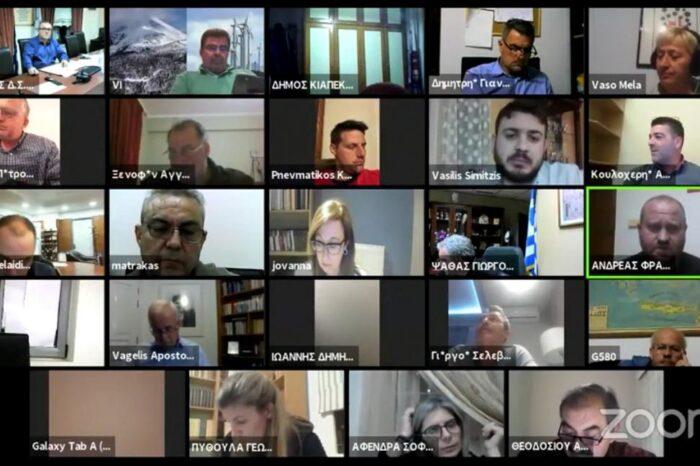 Το Δημοτικό συμβούλιο του Δήμου Διρφύων Μεσσαπίων σε video