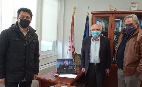 Ψαθάς-Δημητρόπουλος-Μπαράκος και Ραβιόλος συζήτησαν για τον τρόπο αντίδρασης ενάντια στην  εγκατάσταση των αιολικών πάρκων