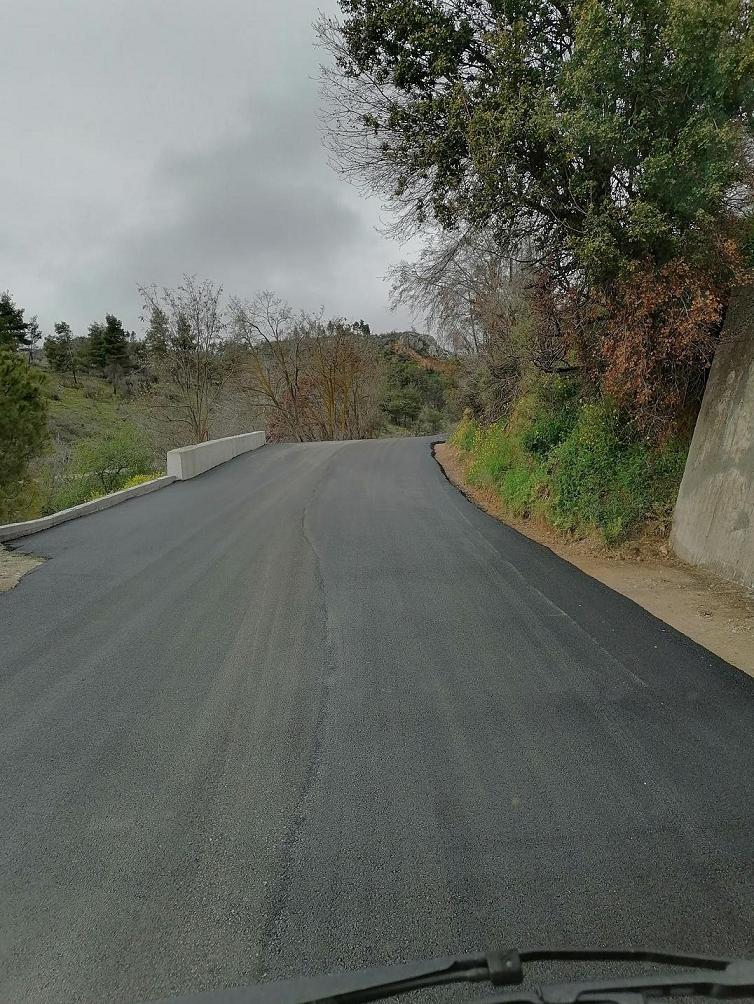 Συνεχίζεται η ασφαλτόστρωση του δρόμου Ψαχνά-Κοντοδεσπότι (φωτό) 171150942 279601050462233 8586885935324085170 n