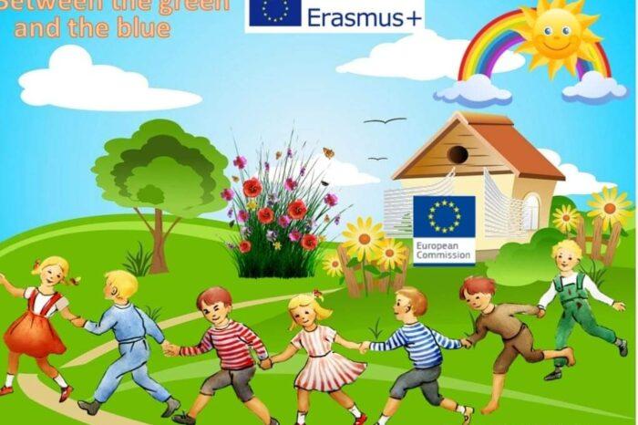 Το νηπιαγωγείο Πολιτικών συμμετέχει στο πρόγραμμα Erasmus+ με τίτλο «Between the Green & the Blue: an environmental study to assure our future»