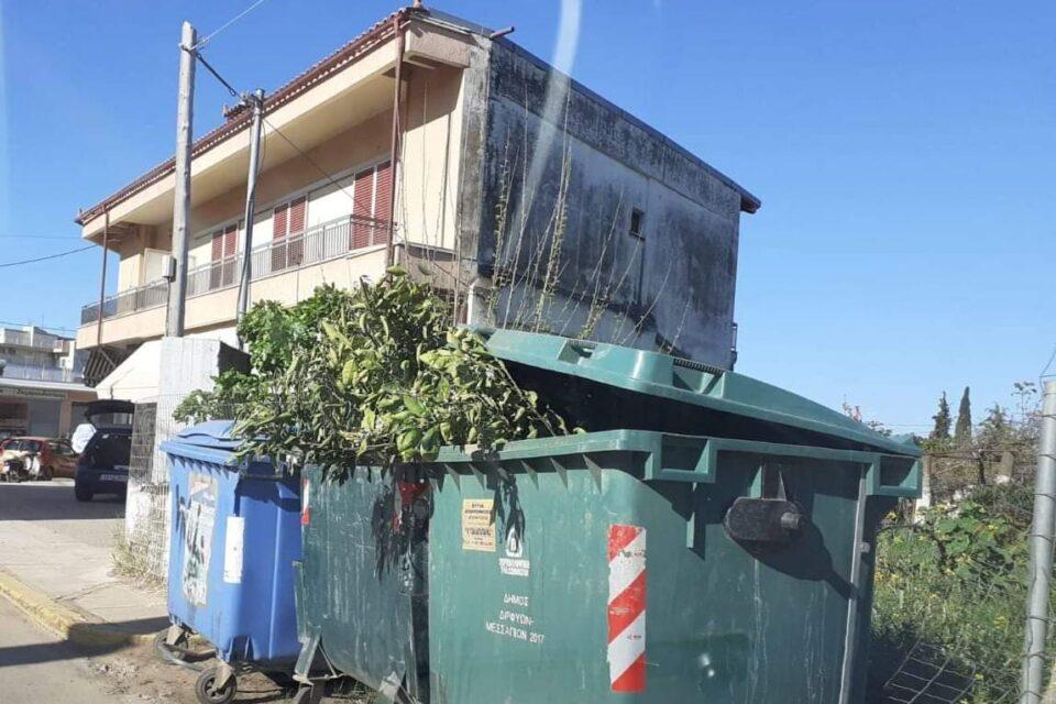 Ανακοίνωση του Δήμου Διρφύων-Μεσσαπίων σχετικά με τη διαχείριση των απορριμμάτων από τους πολίτες