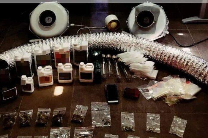 Πολιτικά:Συνελήφθη 32χρονος για κατοχή και καλλιέργεια ναρκωτικών (φωτογραφίες)
