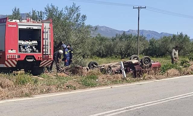 Νέο τροχαίο στην περιοχή του  Κολοβρέχτη-Το τρίτο μέσα σε 40 ημέρες