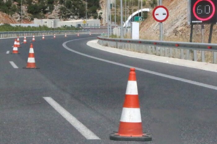 Κυκλοφοριακές ρυθμίσεις  λόγω έργων στην Εθνική Οδό Αθηνών-Λαμίας για δέκα  ημέρες