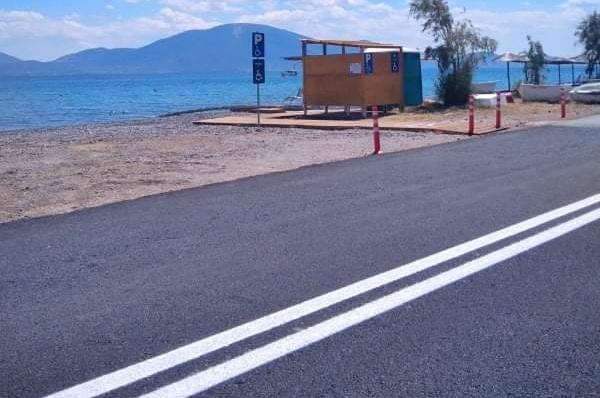 Ολοκληρώθηκαν δύο σημαντικά έργα στον Δήμο Διρφύων Μεσαπίων (Aποκατάσταση παραλίας Πολιτικών-Βελτίωση αγροτικής οδοποιίας Αγριοσυκιάς-Κοτσίκια)
