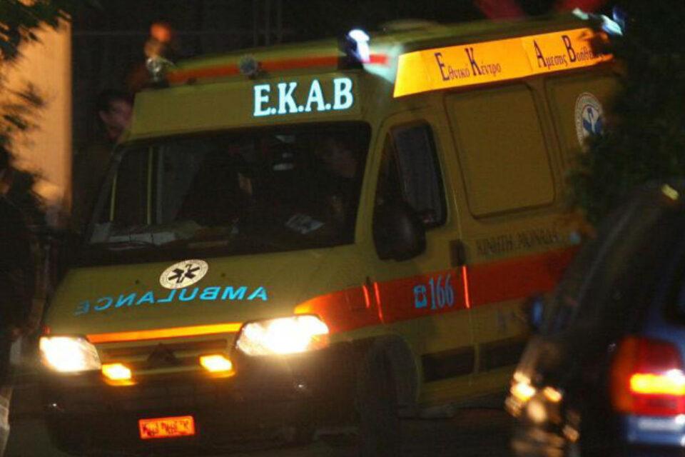 Νέο τροχαίο στα Ψαχνά:Τραυματίστηκε  στο κεφάλι νεαρός από τα Ψαχνά