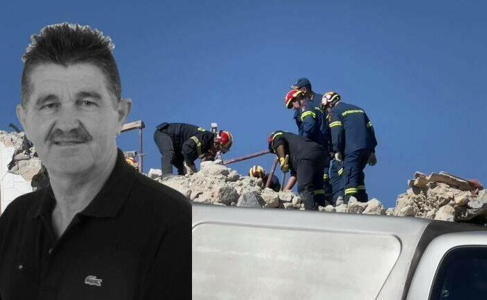 Σεισμός στο Ηράκλειο: Θρήνος για τον 65χρονο Ιάκωβο που καταπλακώθηκε στο εκκλησάκι