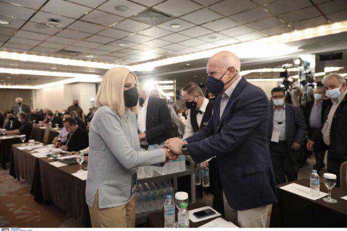 ΚΙΝΑΛ:Προτείνουν τον Γιώργο Παπανδρέου στην θέση της Φώφης Γεννηματά